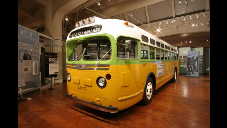 Obama sul bus di Rosa Parks