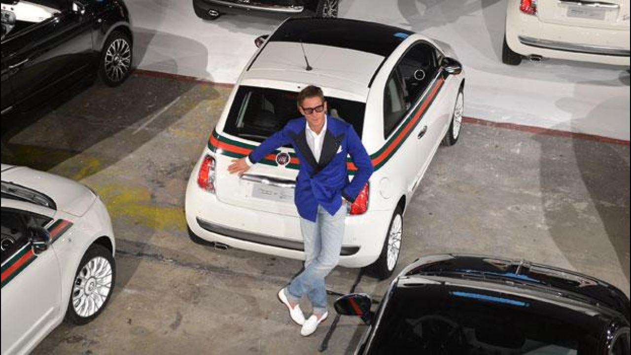 [Copertina] - La Fiat 500 by Gucci di Lapo è protagonista in 5 cortometraggi