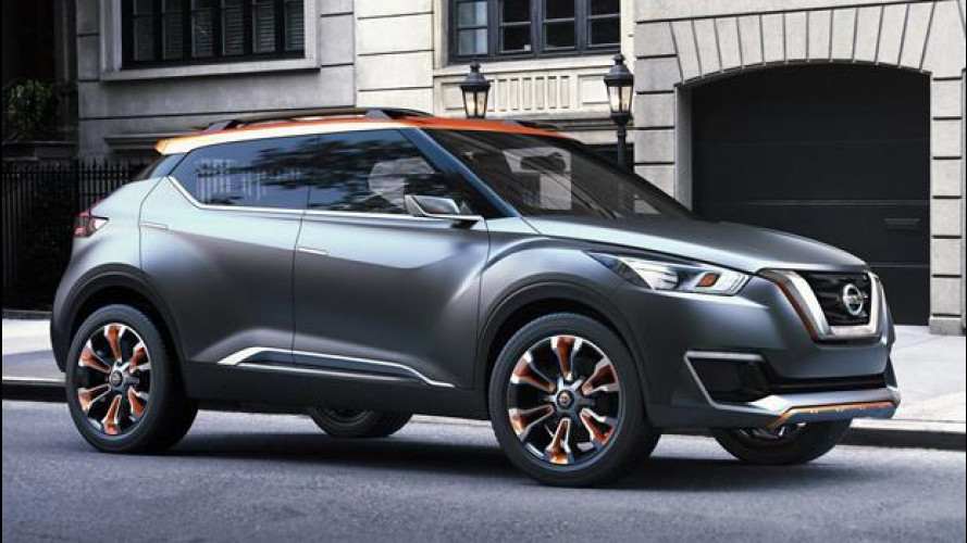 Nissan Kicks, mini-crossover all'avanscoperta