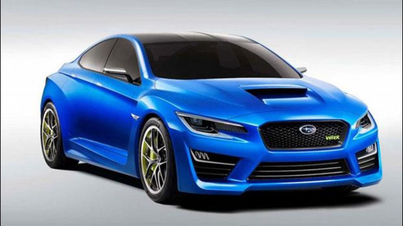 [Copertina] - Subaru WRX Concept
