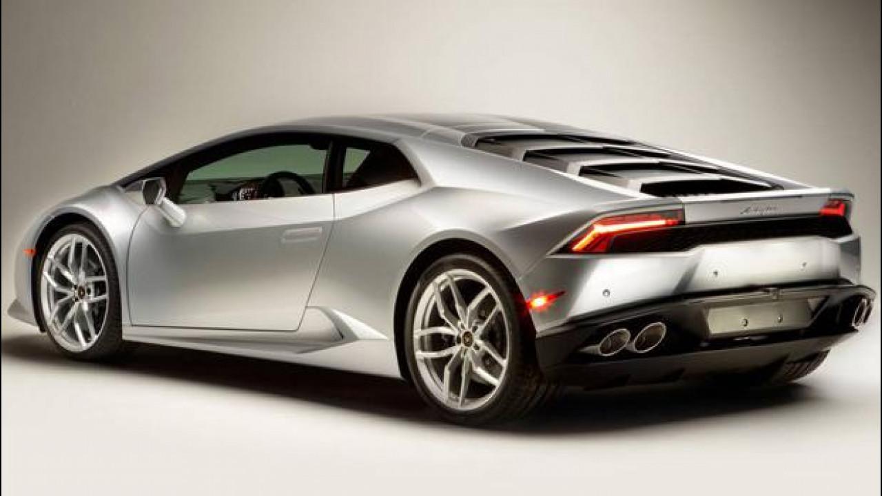 [Copertina] - La Lamborghini Huracan LP 610-4 inizia bene la sua carriera