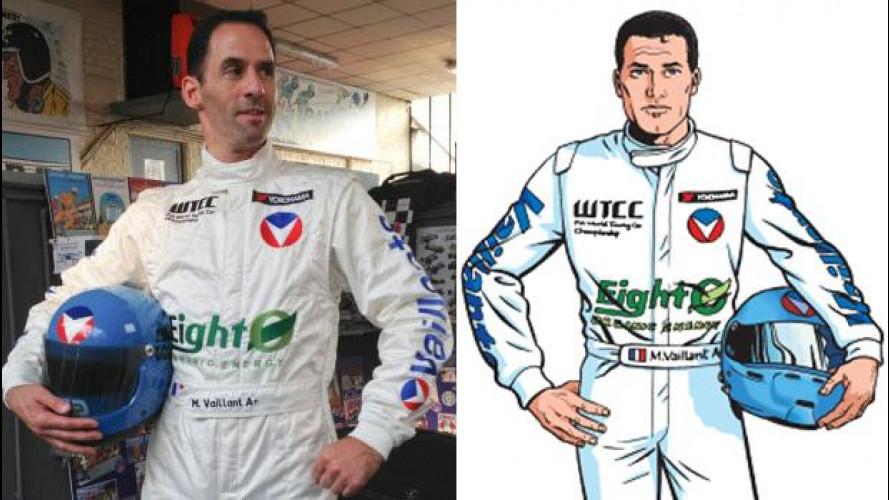 Michel Vaillant debutta nel WTCC (ma è Alain Menu)