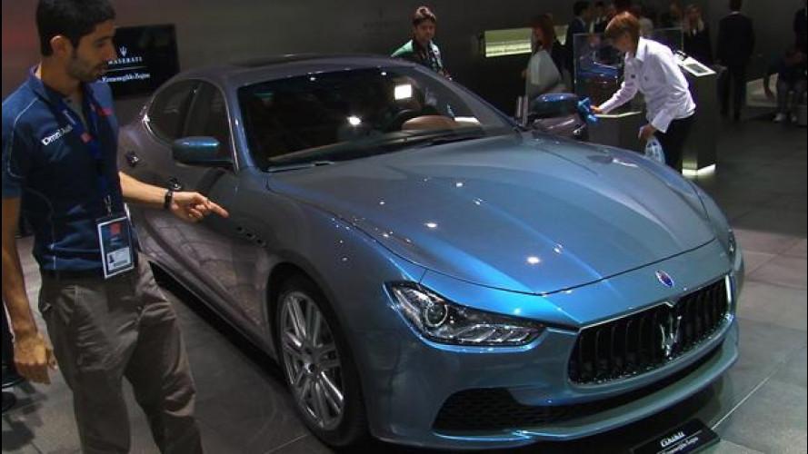 Salone di Parigi, la Maserati Ghibli è firmata Ermenegildo Zegna