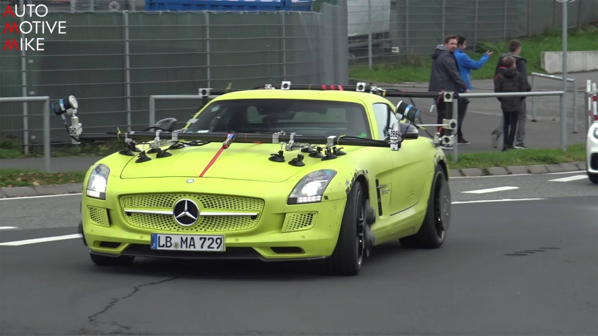 2014 Mercedesbenz Sls Amg Electric Drive Photo