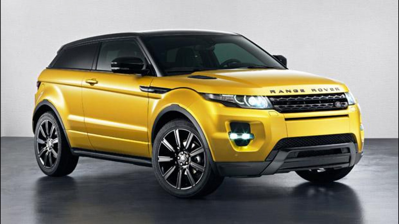 [Copertina] - Range Rover Evoque Sicilian Yellow Limited Edition