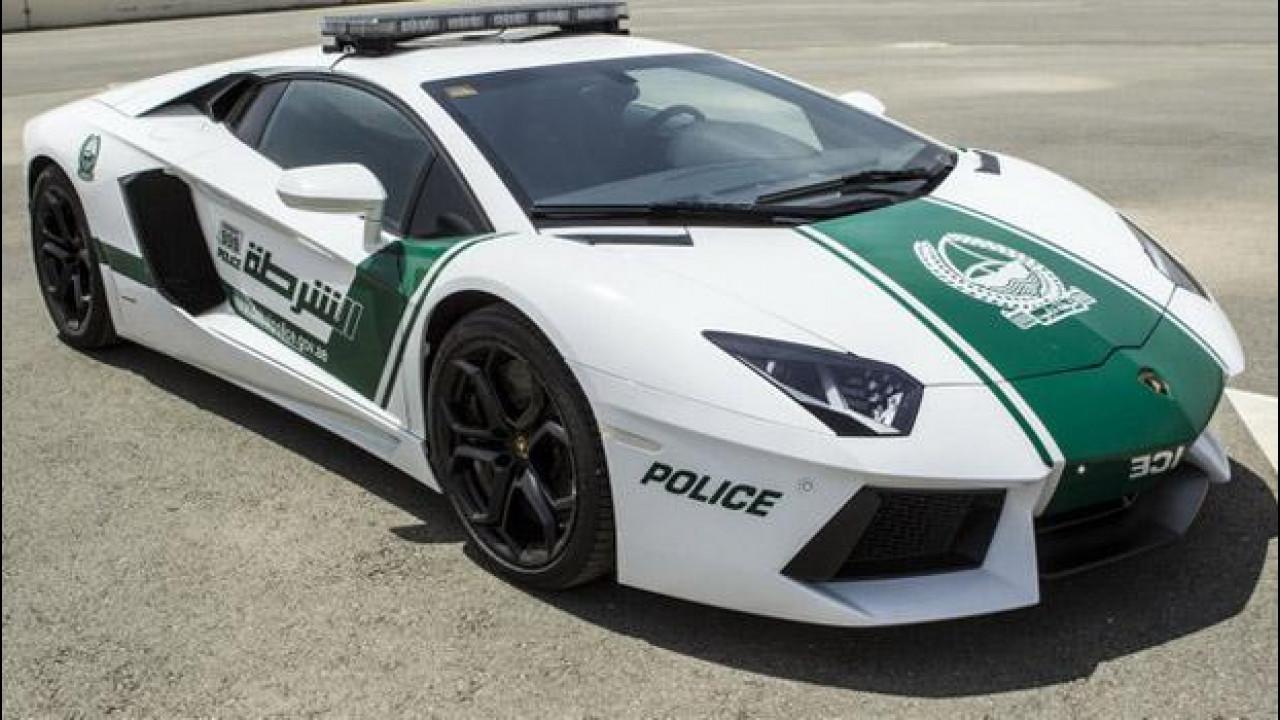 [Copertina] - Una Lamborghini Aventador per la polizia di Dubai