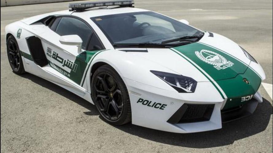 Una Lamborghini Aventador per la polizia di Dubai