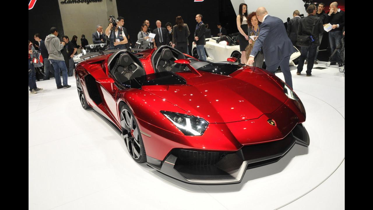 Lamborghini Aventador J al Salone di Ginevra 2012