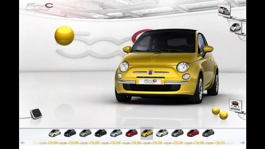 La nuova Fiat 500C si veste sul web