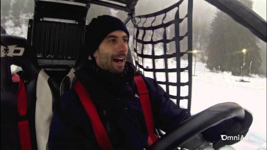 Con il buggy sulla neve, divertimento sfrenato! [VIDEO]