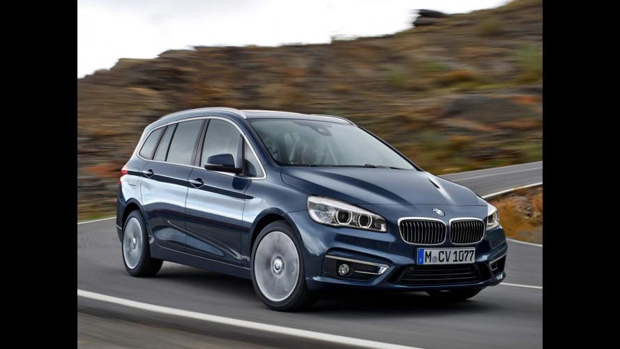 BMW Serie 2 Gran Tourer, spazio ai 7 posti