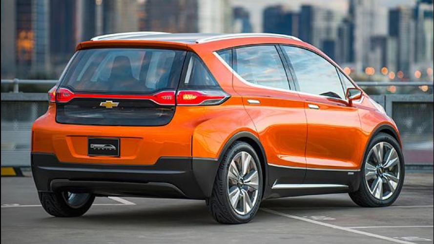 Chevrolet Bolt, l'elettrica da 320 km si farà