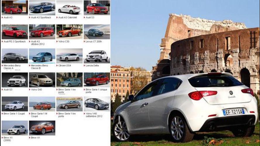 L'Alfa Romeo Giulietta resiste nella battaglia dell'auto premium