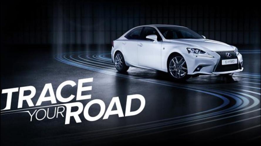 "Lexus IS Hybrid, lo spot ""Traccia la tua strada"""