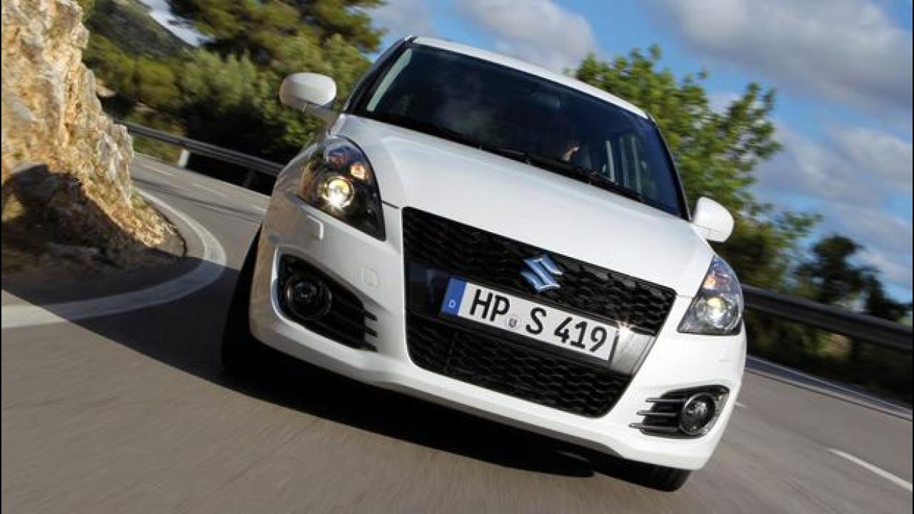 [Copertina] - Suzuki Swift Sport: con la 5 porte il