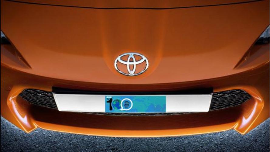 """Toyota è il marchio auto più """"prezioso"""" tra i 100 migliori brand del mondo"""