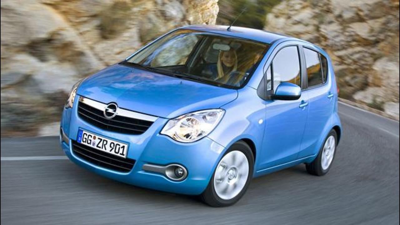 [Copertina] - Opel Agila: le offerte dell'usato