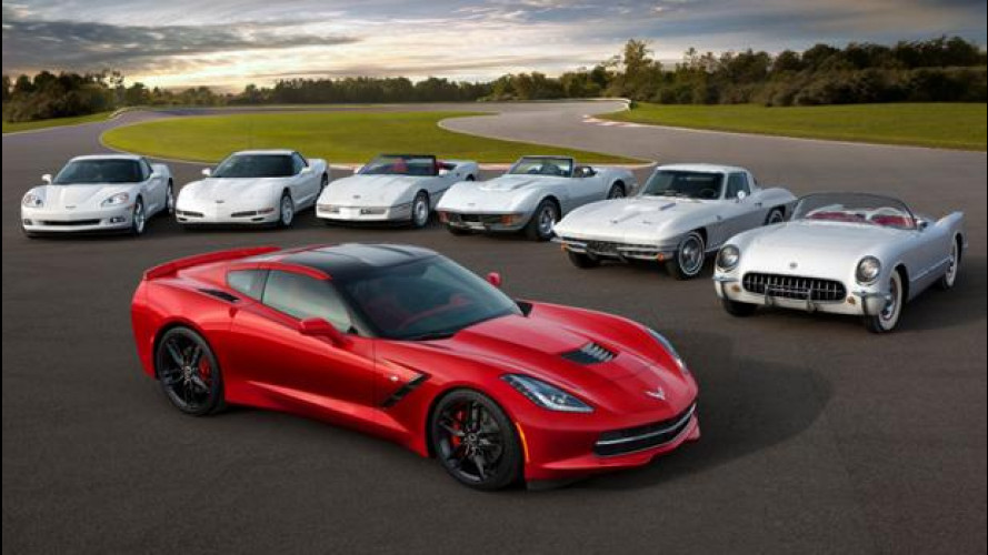 Chevrolet Corvette Stingray, il primo esemplare in beneficenza