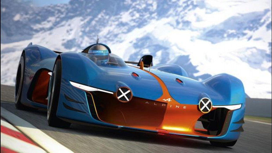 """Alpine Vision Gran Turismo: """"Fate un'auto senza porvi limiti"""""""
