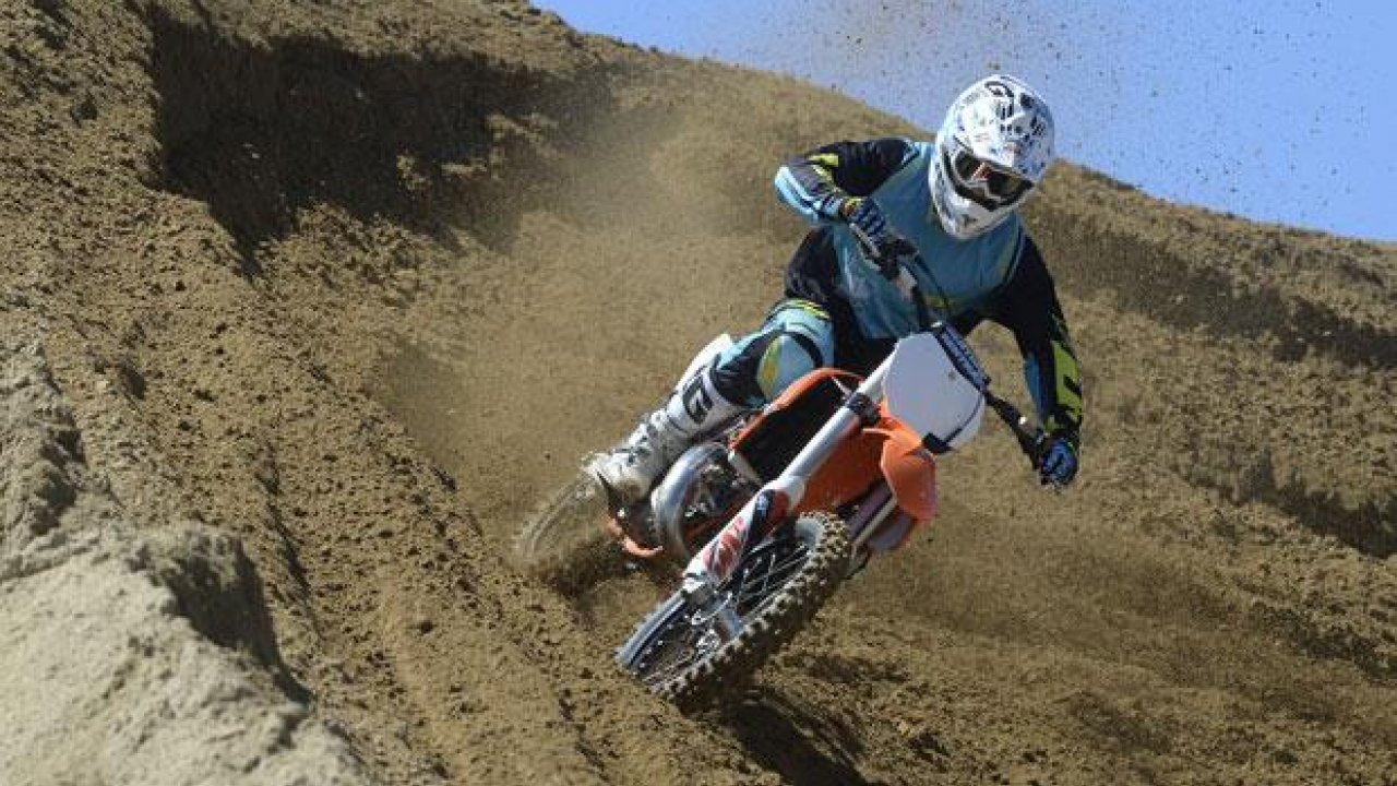 KTM: gamma Cross SX 2015 - TEST
