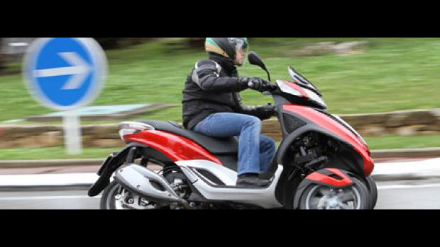 Piaggio MP3 Yourban 2011 - TEST
