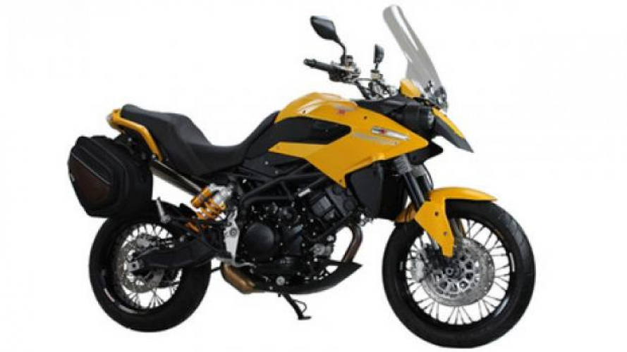Moto Morini Granpasso 1200 Travel Yellow 2013