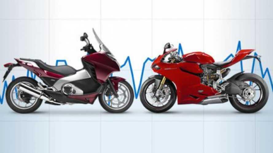Mercato moto-scooter febbraio 2013: -23,6%