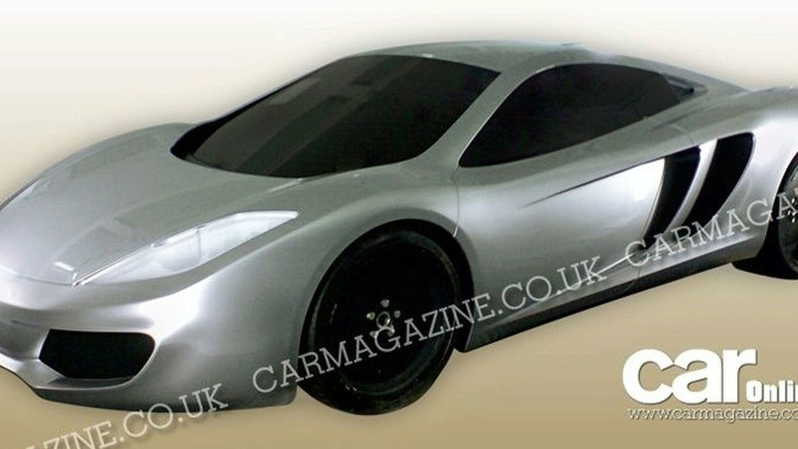 New McLaren P11 Supercar Photos Leak
