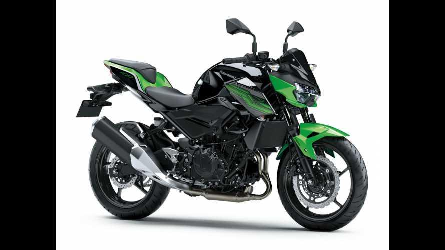 Kawasaki completa su gama naked con la nueva Z400