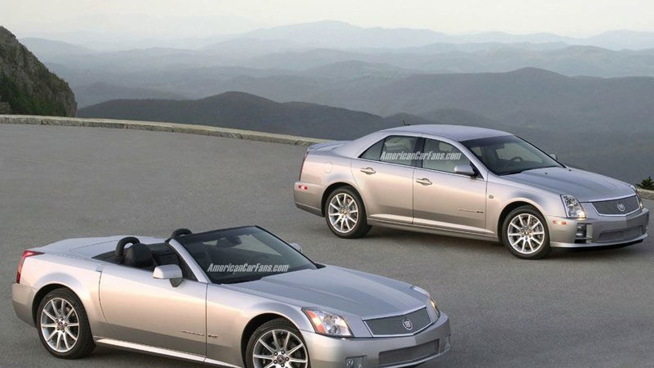 Cadillac Limited Production STS-V And XLR-V