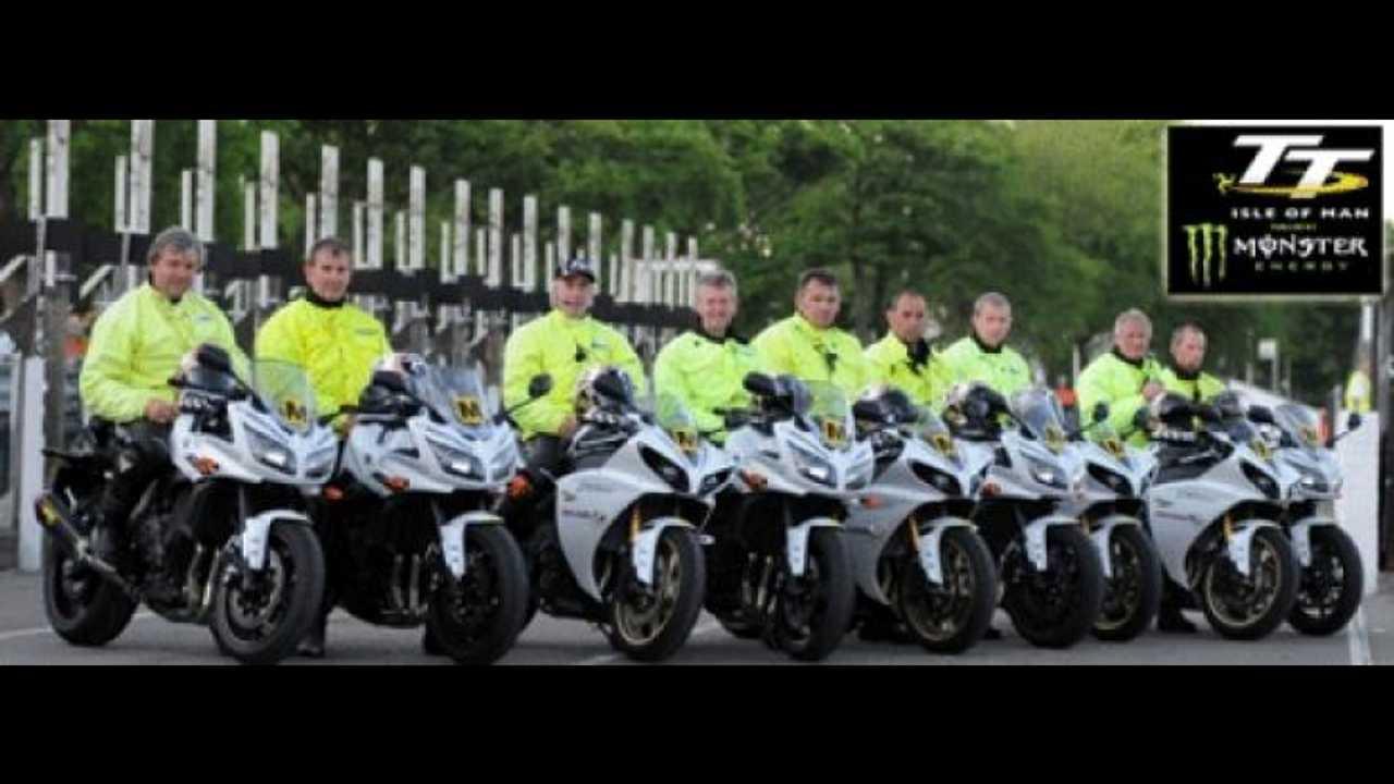 Tourist Trophy 2012: 11 Yamaha ai Marshals