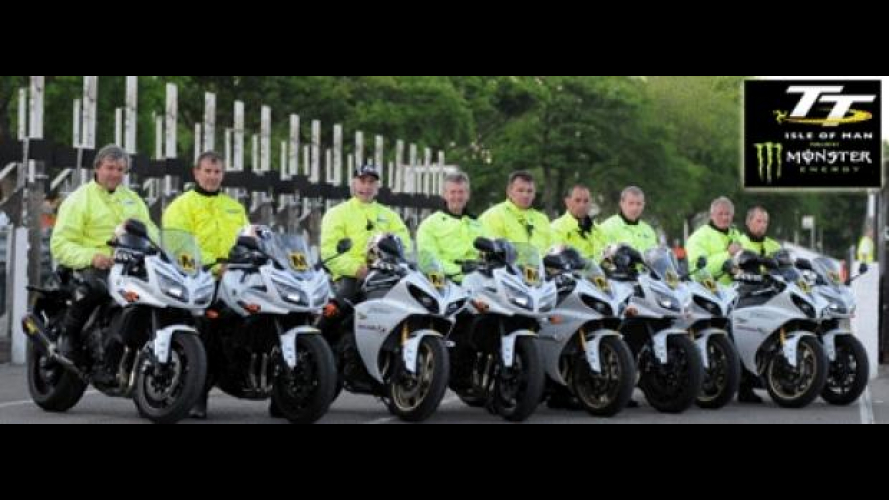 Tourist Trophy 2012: 11 Yamaha ai Marshals
