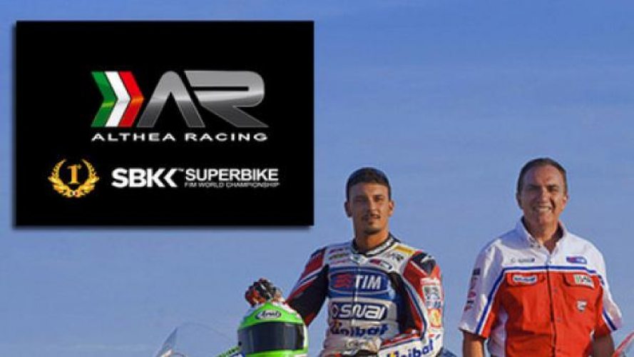 SBK 2013: Althea Racing firma con Aprilia