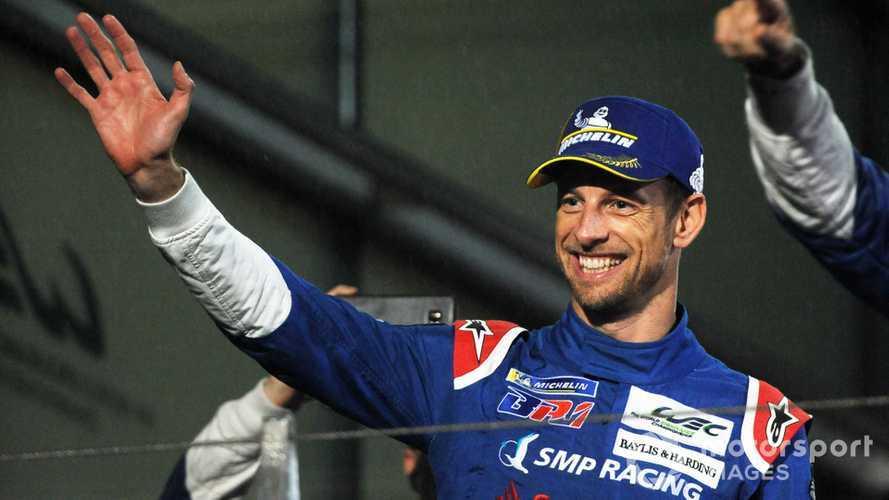 Button 'enjoying racing' again after first WEC podium