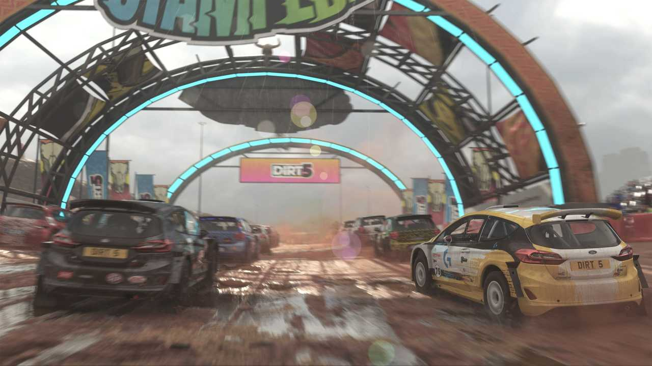 Dirt 5 Screenshot Racing