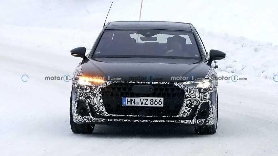 Шпионские фото обновленного Audi A8