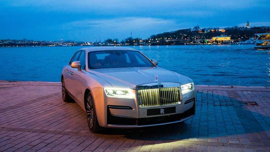 Yeni Rolls-Royce Ghost Türkiye'de!