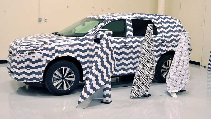 Nissan explains the science behind camouflaging prototypes