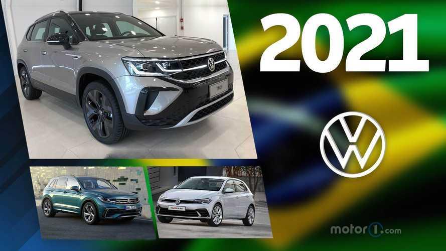 Volkswagen: os lançamentos previstos para 2021 no Brasil