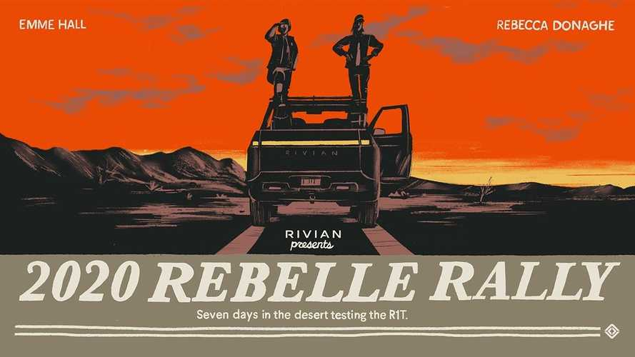Watch The Rivian R1T Conquer 2020 Rebelle Rally: No Roads, No GPS