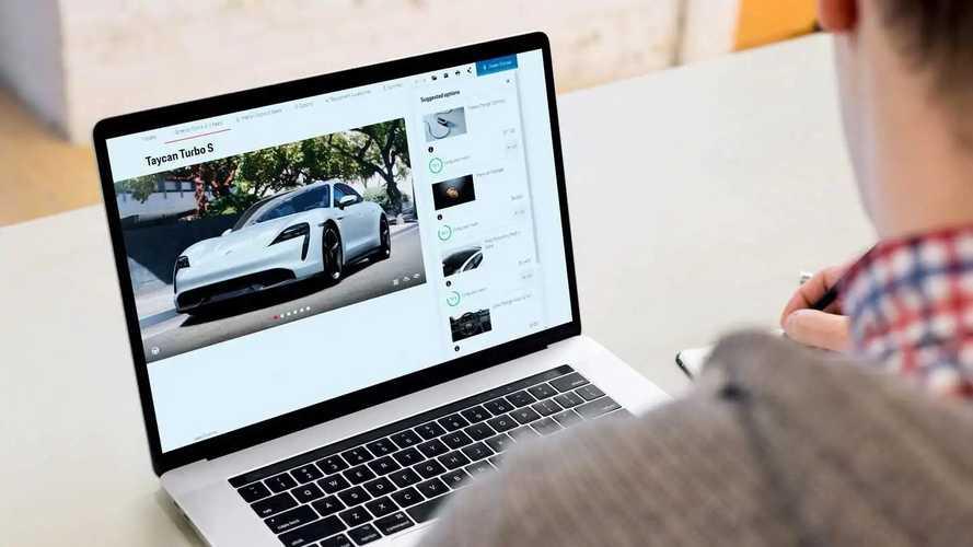 Configurador Porsche con inteligencia artificial