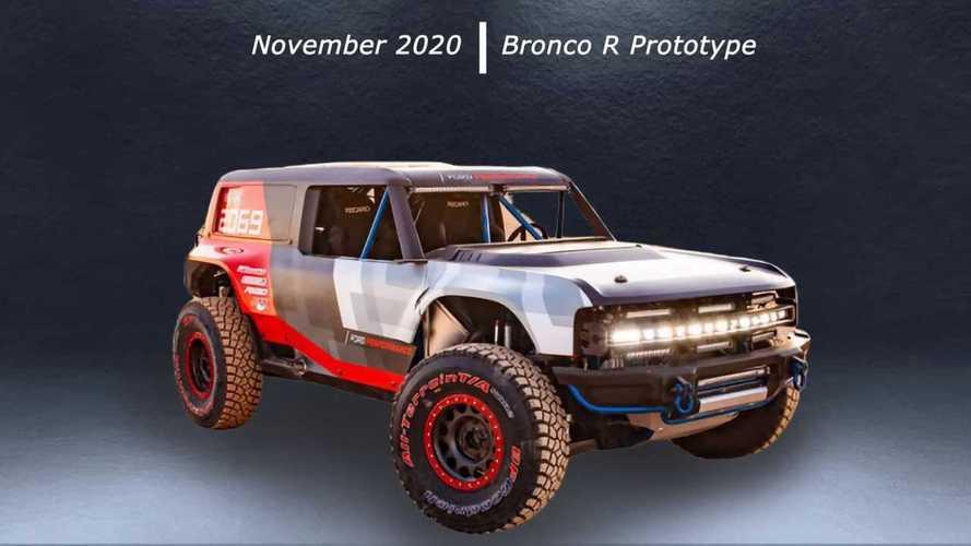 Ford Bronco - Evolução