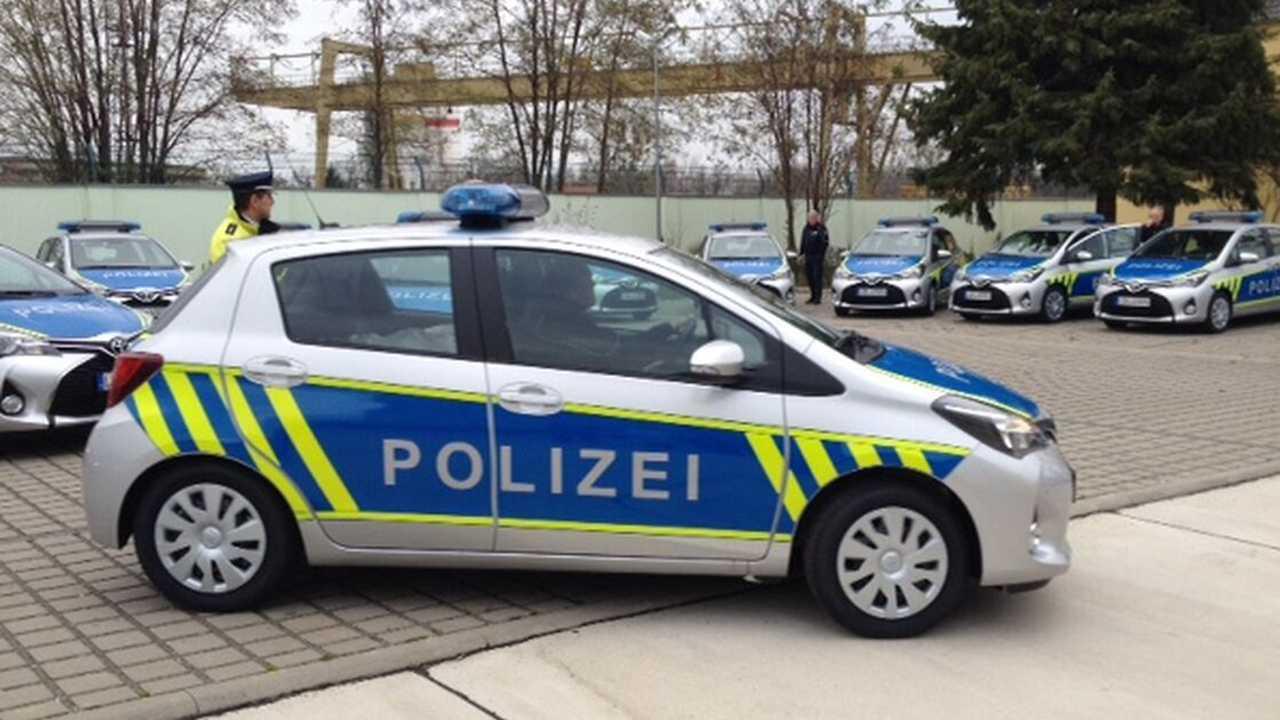 Polizeiautos in Deutschland: Toyota Yaris