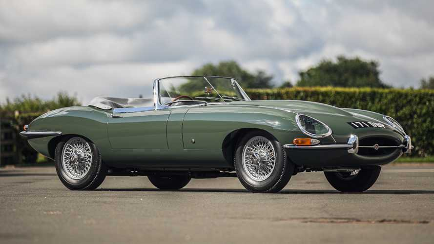Steve Coogan's Jaguar E-Type is heading to the auction block