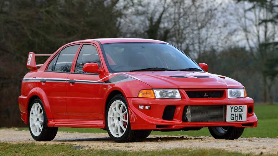 Mitsubishi Lancer Evolution launched in the UK 20 years ago