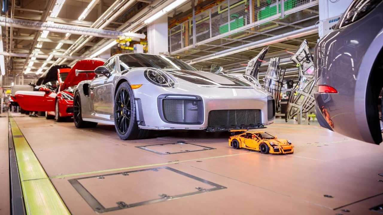 Cheapest ever 911 leaves Porsche factory – because it's Lego