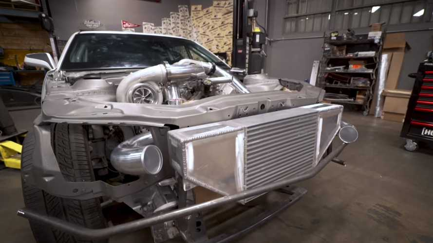 Chevy Camaro Gets Twin-Turbo Diesel Swap In Bonkers 1,000 HP Build