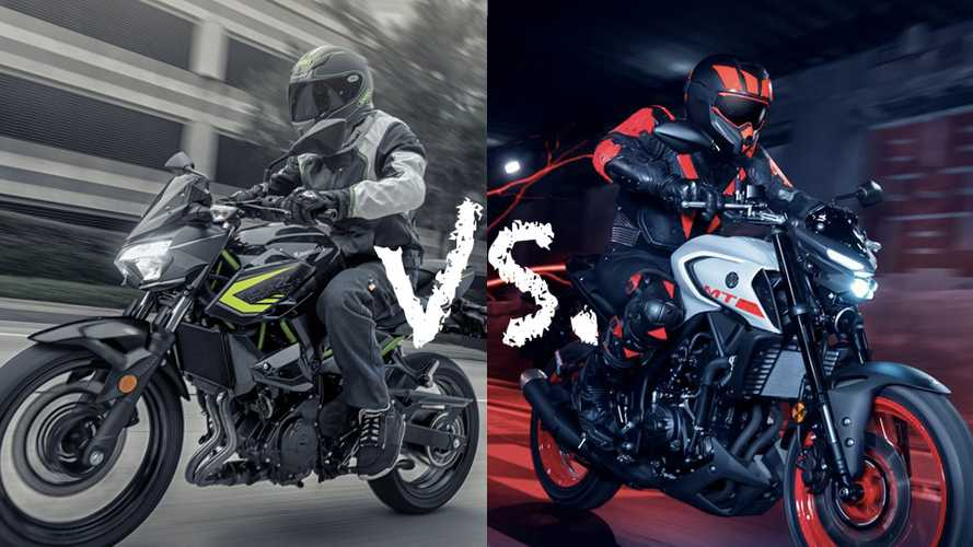 Spec Showdown: Yamaha MT-03 Vs. Kawasaki Z400