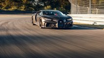 Bugatti Chiron Pur Sport – тесты на треке Bilster Berg