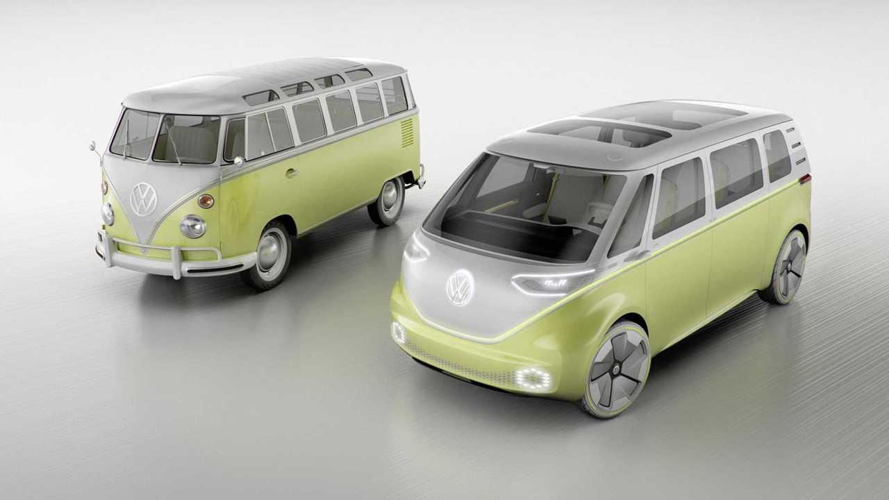 Volkswagen подтвердил запуск в серию электрокара I.D. Buzz